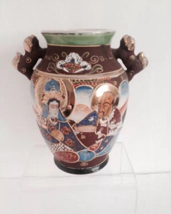 Vintage Japan Satsuma Vase 7 Tall For Sale In Sugar Land Tx Offerup