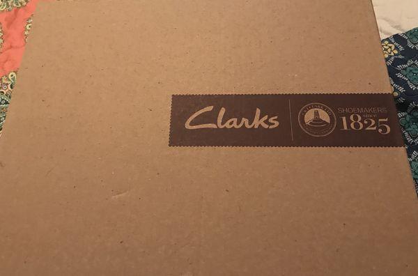 c1898d97b6d NIB! Clark s! Women s Tuvia Maddee Navy Blue sandal. Size 39.5 or ...