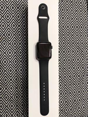 Apple Watch Series 3 42MM - Space Grey - GPS/Cellular - UNLOCKED for Sale in Gaithersburg, MD