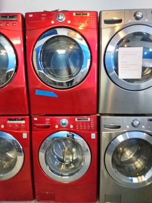 Photo LG FRONT LOAD WASHER AND DRYER SET IN EXCELLENT CONDITION