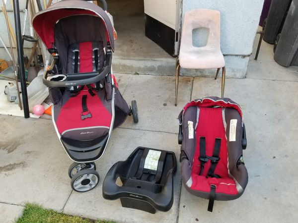 Eddie Bauer Car Seat Base And Stroller Baby Kids In Signal Hill CA