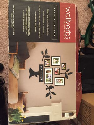 Wall Art - Family Tree Picture Frame Set for Sale in Silver Spring, MD