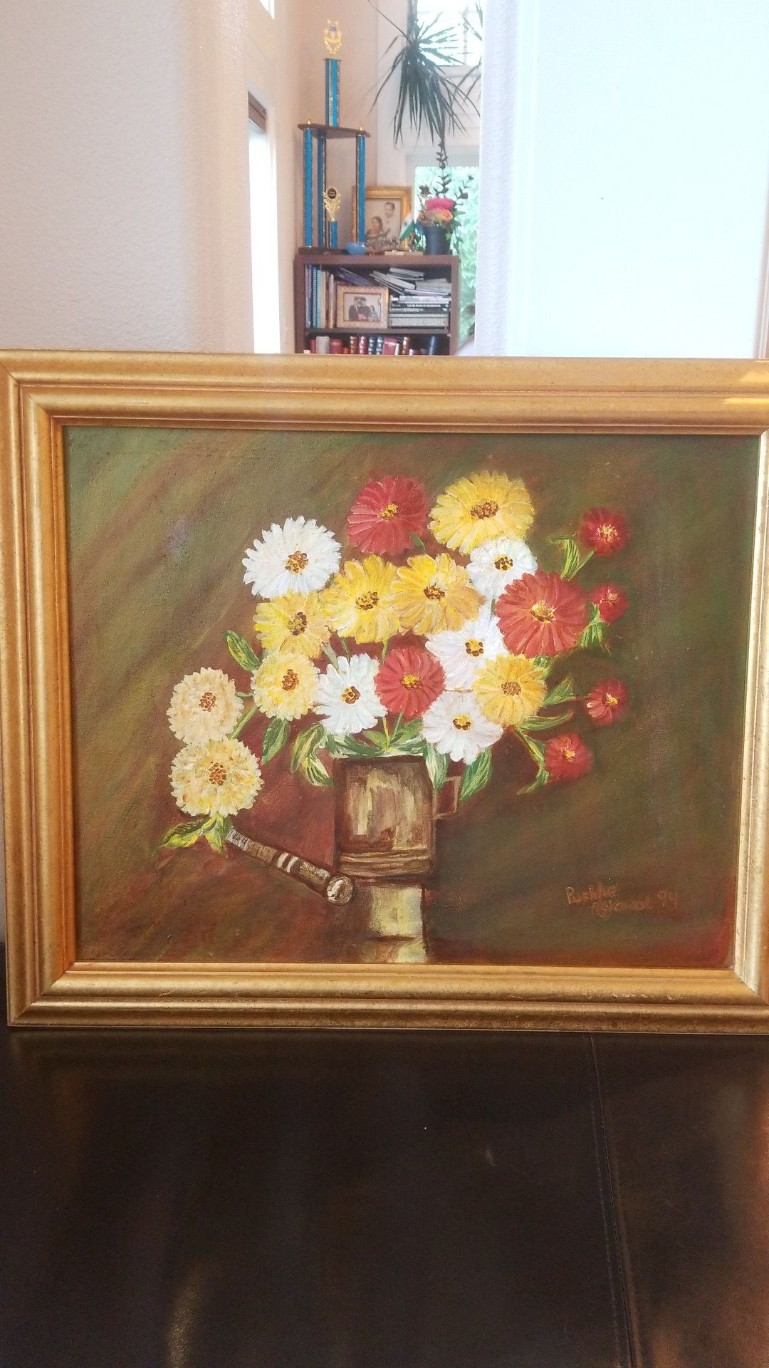 this is original painting hand made oil on canvas