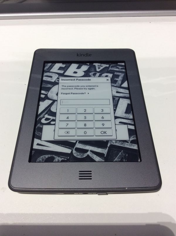 "82b0c61e5 Amazon Kindle (D01200) Touch ""AS-IS"" for Sale in Warren, MI - OfferUp"
