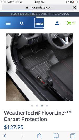 06-15 Mazda Miata weather tech floor mats for Sale in Austin, TX - OfferUp