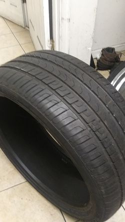 1 use tire Pirelli scorpion 275/35/22 Thumbnail