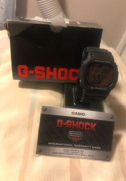 G shock watch Thumbnail