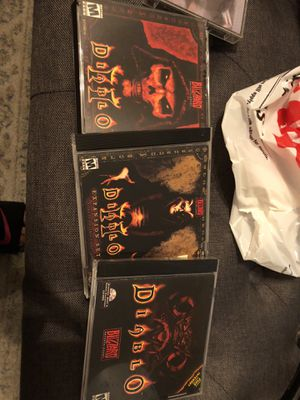 Diablo pc games for Sale in San Diego, CA