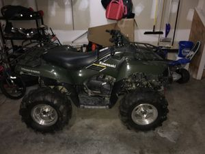 ATV 2005 Kawasaki Brute Force 750 4x4 with brand new in box high end plow and new 3500lb winch. Only deal locally and cash only no scams for Sale in Silver Spring, MD