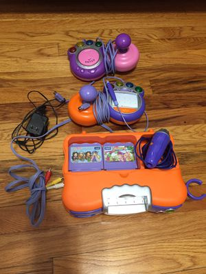Vetch Educational System Bundle for kids , include games , cables, Console , ready to use for Sale in Elizabeth, NJ