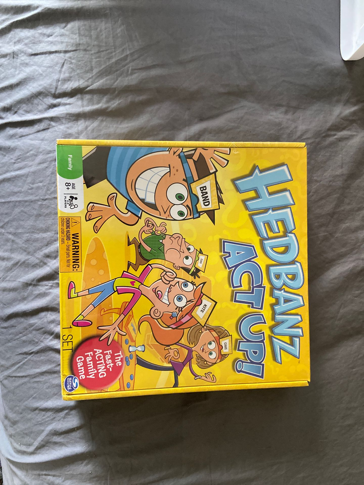 Hedbanz act up board game