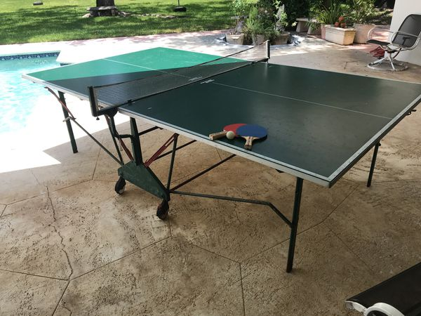Kettler Ping Pong Table On Wheels Miami