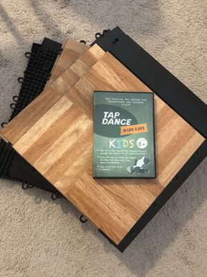 Tap dance floor and DVD for Sale in Frederick, MD