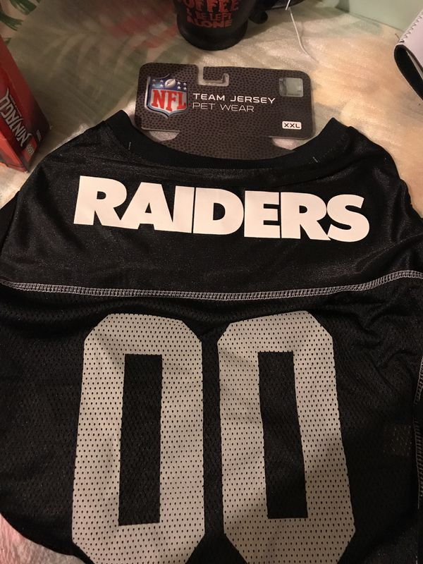 43509f1fc0c Raiders dog jersey for Sale in Beaumont, CA - OfferUp