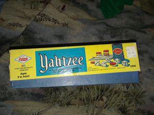 1973 Yahtzee game board for Sale in Cocoa Beach, FL