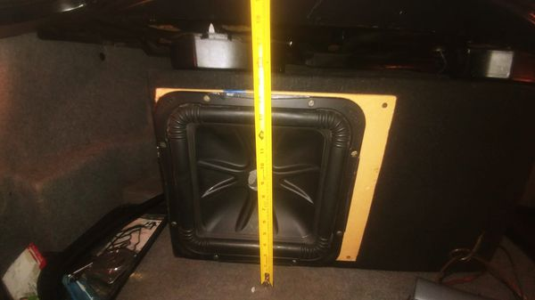 L7 KICKER 12 in with aero port for Sale in Naval Air Station Point Mugu, CA  - OfferUp