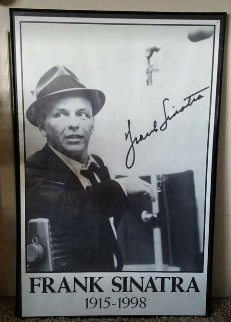Frank Sinatra framed poster (General) in Inman, SC - OfferUp