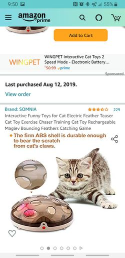 Interactive Funny Toys for Cat   Thumbnail