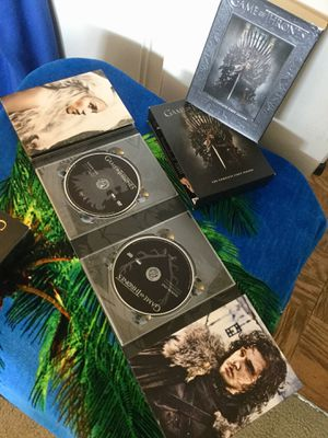 The Complete 1 st Season of Game of Thrones / 5 DVD Disc in case 📀 💿 🎥🍿 Like new for Sale in Lincolnia, VA