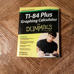 TI-84 Plus Graphing Calculator for Dummies Thumbnail
