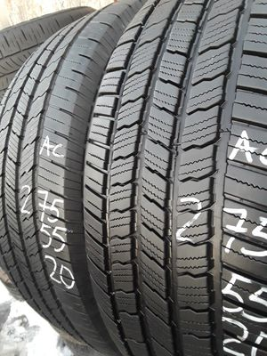275/55-20 #2 tires for Sale in Alexandria, VA