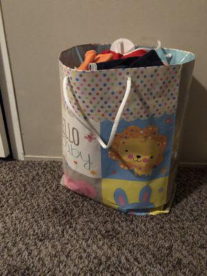 Photo Bag of baby boy clothes!