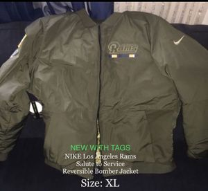 more photos 90713 77af8 New and Used Bomber jacket for Sale in San Fernando, CA ...