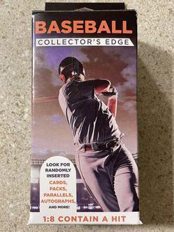 Fairfield Baseball Collector's Edge Jumbo Boxes Thumbnail