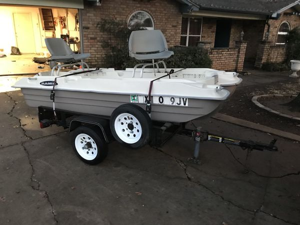 Pelican Bass Raider 10e 2 Man Bass Boat I Have Clear Title For Sale In North Richland Hills Tx Offerup