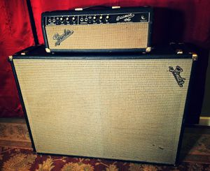 70's Fender 2x15 Bass Guitar Cabinet for Sale in Orlando, FL