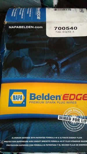 Napa belden edge premium spark plugs wires for Sale in Jacksonville, on