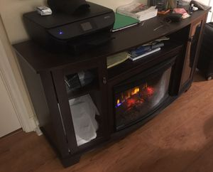 Electric / Digital Fireplace Console for Sale in Washington, DC