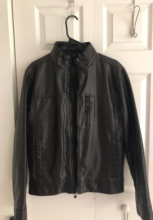 Calvin Klein leather jacket for Sale in Vienna, VA