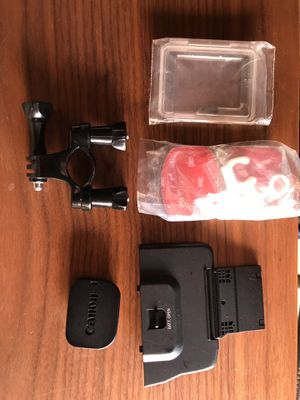 Canon C300 battery and eye cap / go pro accessories for Sale in Los Angeles, CA