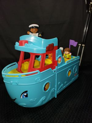 Photo Fisher price little people cruise ship & accessories
