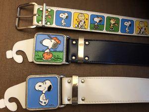 Rare Vintage Snoopy Belts for Sale in Centreville, VA