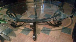 New coffee table with metal and glass for Sale in Silver Spring, MD