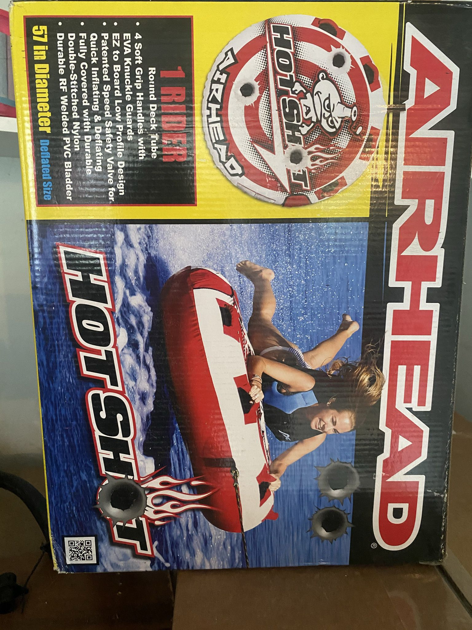Photo Air Head Boat Tube