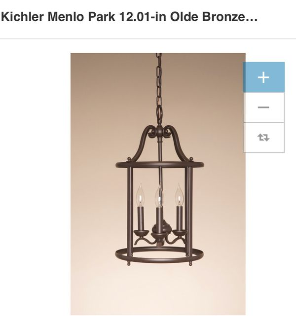 Kichler Menlo Park 3 Light Chandelier Coastal Bronze New S For 114 00 In Virginia Beach Va Offerup