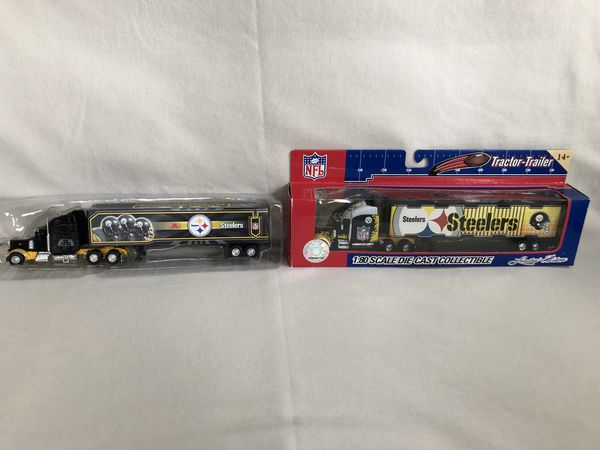 2 Pittsburgh Steelers die cast tractor Trailers for Sale in Nazareth ... 699321e81