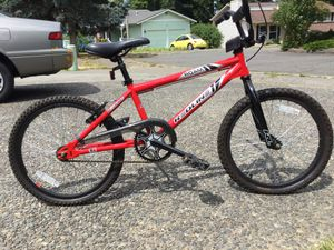 Perfect high end kids bike memories last a life time. The best for kids making positive impact memory.Redline Roam has a race inspired Hi-Ten frame a for Sale in Tacoma, WA