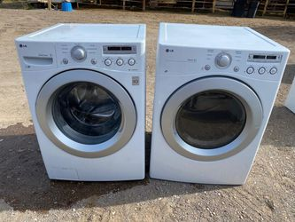 LG Washer and Gas Dryer Thumbnail