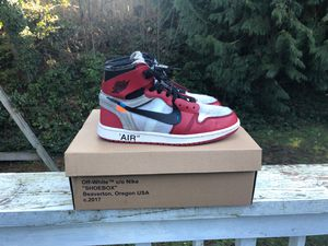 cc16bb8ac0b0 OFF-WHITE Air Jordan 1 Chicago (THE TEN) for Sale in Woodway