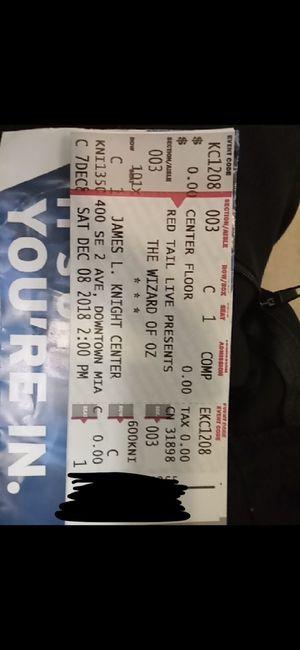Tickets for Sale in Miami, FL