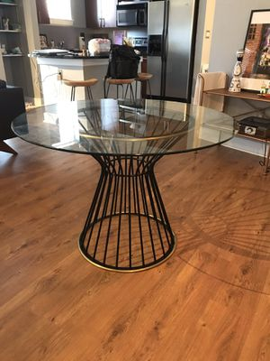 West Elm 42 Hourglass Dining Table For Sale In Atlanta GA