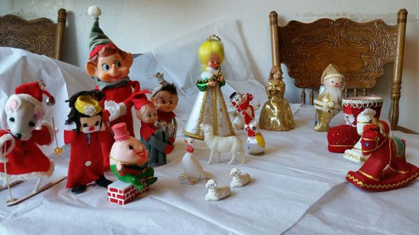 Vintage Felt Celluloid Paper Christmas Decorations For Sale In Newark Ca Offerup