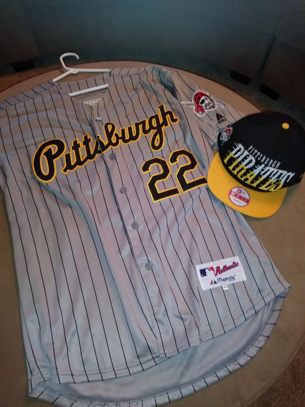 promo code 30d30 9d003 Pittsburgh Pirates McCutchen Jersey w Hat for Sale in Indianapolis, IN -  OfferUp