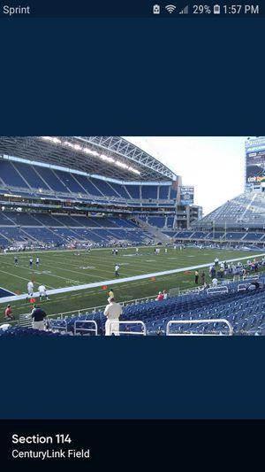 1 ticket Hawks vs Vikings 7 rows up $150 for Sale in Seattle, WA