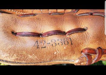 SPALDING BOBBY MURCER SIGNATURE BASEBALL GLOVE #42-3361 PROFESSIONAL MODEL Thumbnail