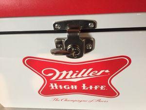 Photo Miller High Life Metal Cooler